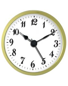 2-3/4'' Clock Insert with Arabic Numerals