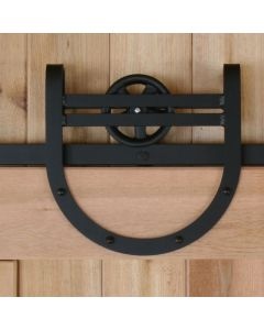 Hangers available in three sizes: 11-1/2' and 9-1/2' have wheel with five spokes (on Right)