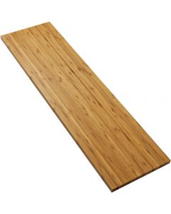 Bamboo is extremely stable and resistant to warping.