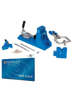 Kreg Jig K4MS Master System With FREE $25 Gift Card