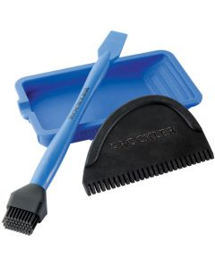 Includes Silicone Brush, Silicone Tray, and Silicone Spreader
