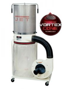 Jet DC-1200VX-CK1 Dust Collector, 2HP 1PH 230V, 2-Micron Canister Kit (710702K)
