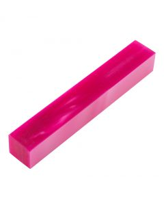 Pink Passion Acrylic Acetate Pen Blank