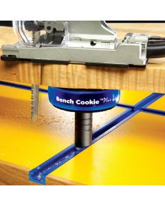 The additional height creates space for saw blades