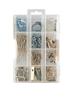 Picture Hanging Hardware Kit, 175-Pack