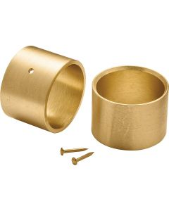 Brass Ferrules for Tool Handles, 2-Pack