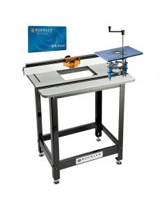 Pro Phenolic Router Table, Fence, Stand, & FX Router Lift With $100 Gift Card