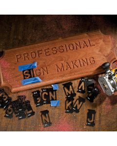 Router templates and guides rockler woodworking hardware rockler interlock signmakers templates state park font kits spiritdancerdesigns Image collections