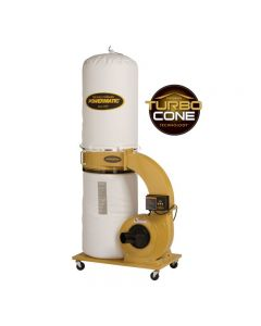 Powermatic PM1300TX-BK Dust Collector, 1.75HP 1PH 115/230V, 30-Micron Bag Filter Kit