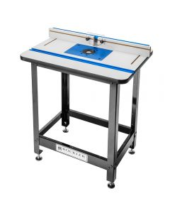 Rockler High Pressure Laminate Router Table, Fence, Stand and Phenolic Plate