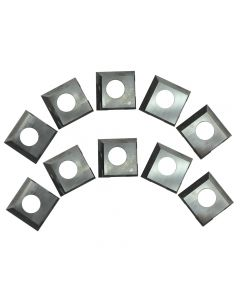 HSS 2-Edge Insert Cutters for Rikon 20-600H, 25-130H, 25-131H, 10-Pack