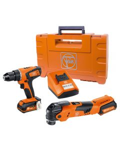 Fein 12V Cordless MultiTalent Oscillating Multi-Tool with 12V Drill/Driver