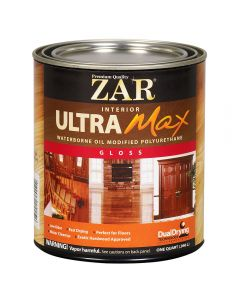 ZAR® Ultra Max Oil-Modified Waterborne Polyurethane, Gloss