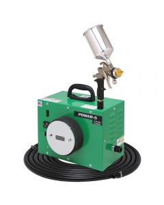 Apollo POWER-5 HVLP Spray System with Gravity-Feed Gun