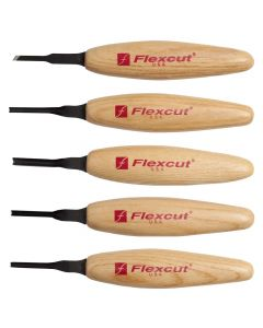 FlexCut  MT930 3mm Mixed Profile Micro Carving Tool Set