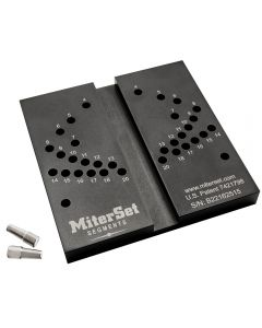 MiterSet Segments Miter Gauge Calibration Jig