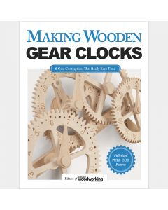Making Wooden Gear Clocks, Paperback Book