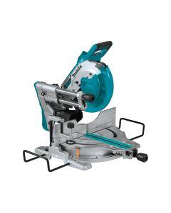 Makita 36V Lithium-Ion X2 LXT Brushless Cordless 10'' Dual-Bevel Sliding Compound Miter Saw, Tool Only