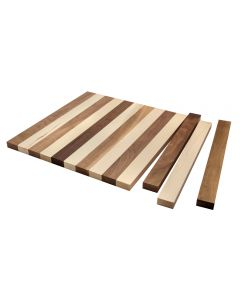 Unglued Cutting Board, 19-1/2''W x 16''L x 13/16'' Thick
