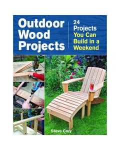 Outdoor Wood Projects, Book