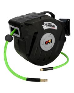 50' x 3/8'' Hybrid Air Hose and Reel