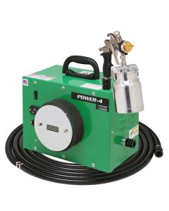 Apollo POWER-4 HVLP Spray System with Bottom-Feed Gun