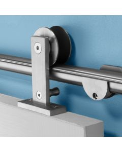 I-Semble Rolling Door Hardware Kit, Top Mount, Stainless Steel