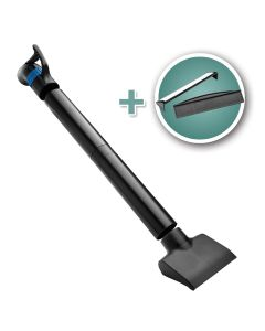 Dust Right 4'' Quick Change Floor Sweep with Magnetic Attachment