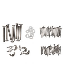 Stainless Steel Hardware Pack for Bar Height Adirondack Table