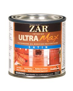 ZAR® Ultra Max Oil-Modified Waterborne Polyurethane, Satin