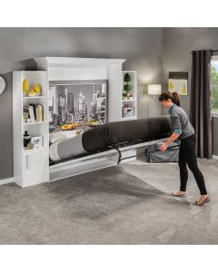 Ideal for guest beds, small rooms and studio apartments