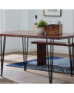 Hairpin Legs are ideal for buffets, entry tables and sofa tables