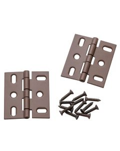 """Deluxe Butt Hinges –2"""" L x 1-3/4"""" W, Flat Tip"""
