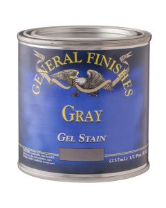 General Finishes Gray Gel Stain - 1/2 Pint
