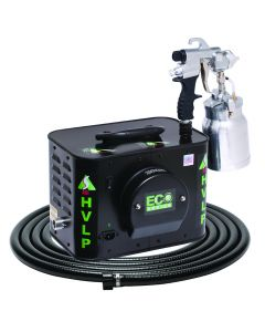 Apollo ECO-5 Five-Stage HVLP Spray System with E7000 Non-Bleeder Spray Gun