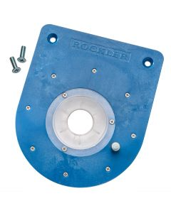 Mid-Size Router Insert Plate Kit for Convertible Benchtop Router Table