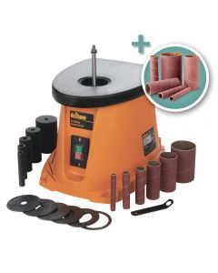 Triton Oscillating Spindle Sander with Additional 6-Piece Sanding Sleeve Kit
