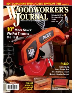 Woodworker's Journal March/April 2015