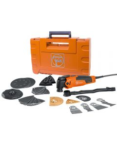 Fein FMM350QSL MultiMaster Oscillating Multi-Tool with Top Kit and Hard Case