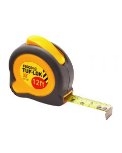 Tuf-Lok Tape Measure, 3/4''W x 12'L