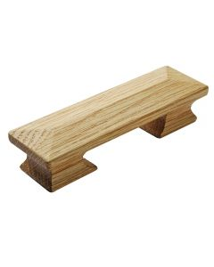Mission Style Wooden Pull, 4-3/8'' L, Red Oak
