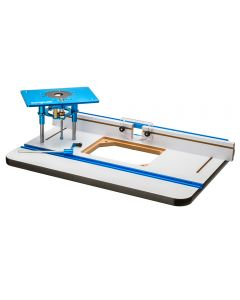 Router table packages rockler woodworking and hardware rockler high pressure laminate router table fence and fx router lift greentooth Gallery