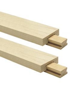 Classic Wood Center-Mount Drawer Slide, 2-Pack