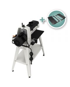 Jet 16-32 Drum Sander with Stand and Infeed/Outfeed tables