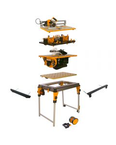 Triton WorkCentre Package with Router Table, Contractor Saw and Project Saw