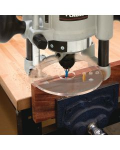 Bench Dog Mortise-Pro Center Mortising Router Plate