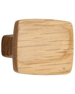 Walnut Rectangle Knob, 16mm CTC