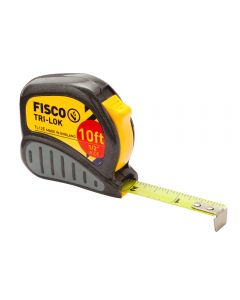 Tri-Lok Tape Measure 1/2''W x 10'