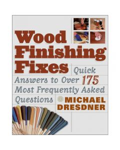 Wood Finishing Fixes, Book