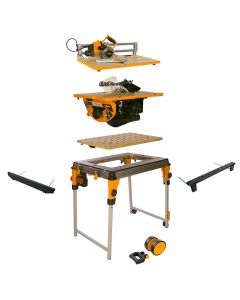 Triton WorkCentre Package with Contractor Saw and Project Saw